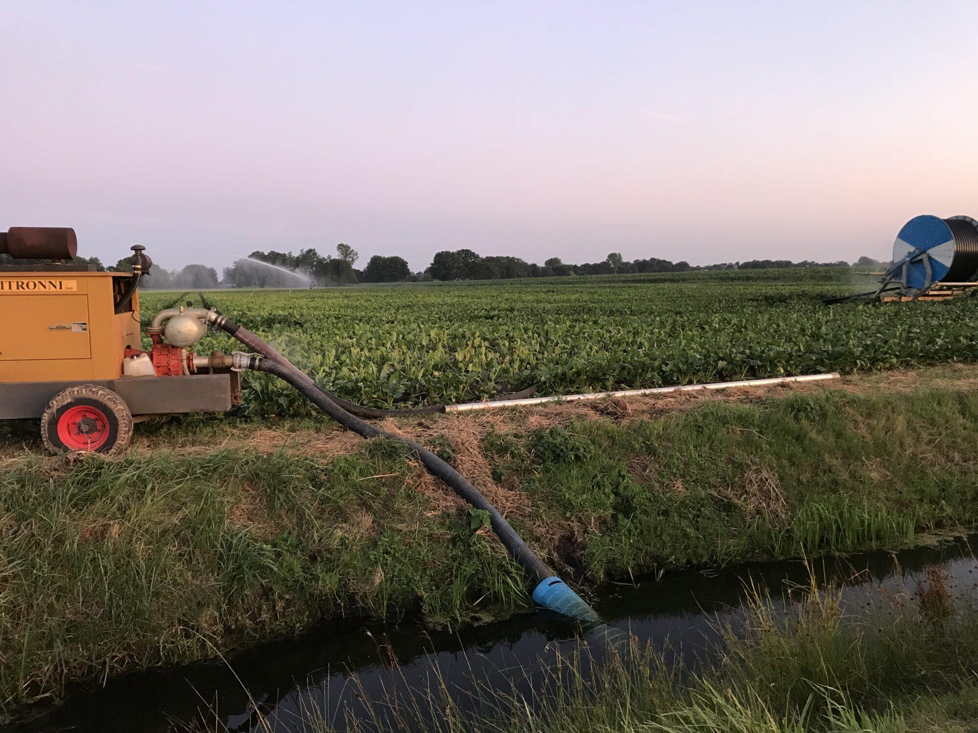 Gebruik van slootwater niet overal meer mogelijk