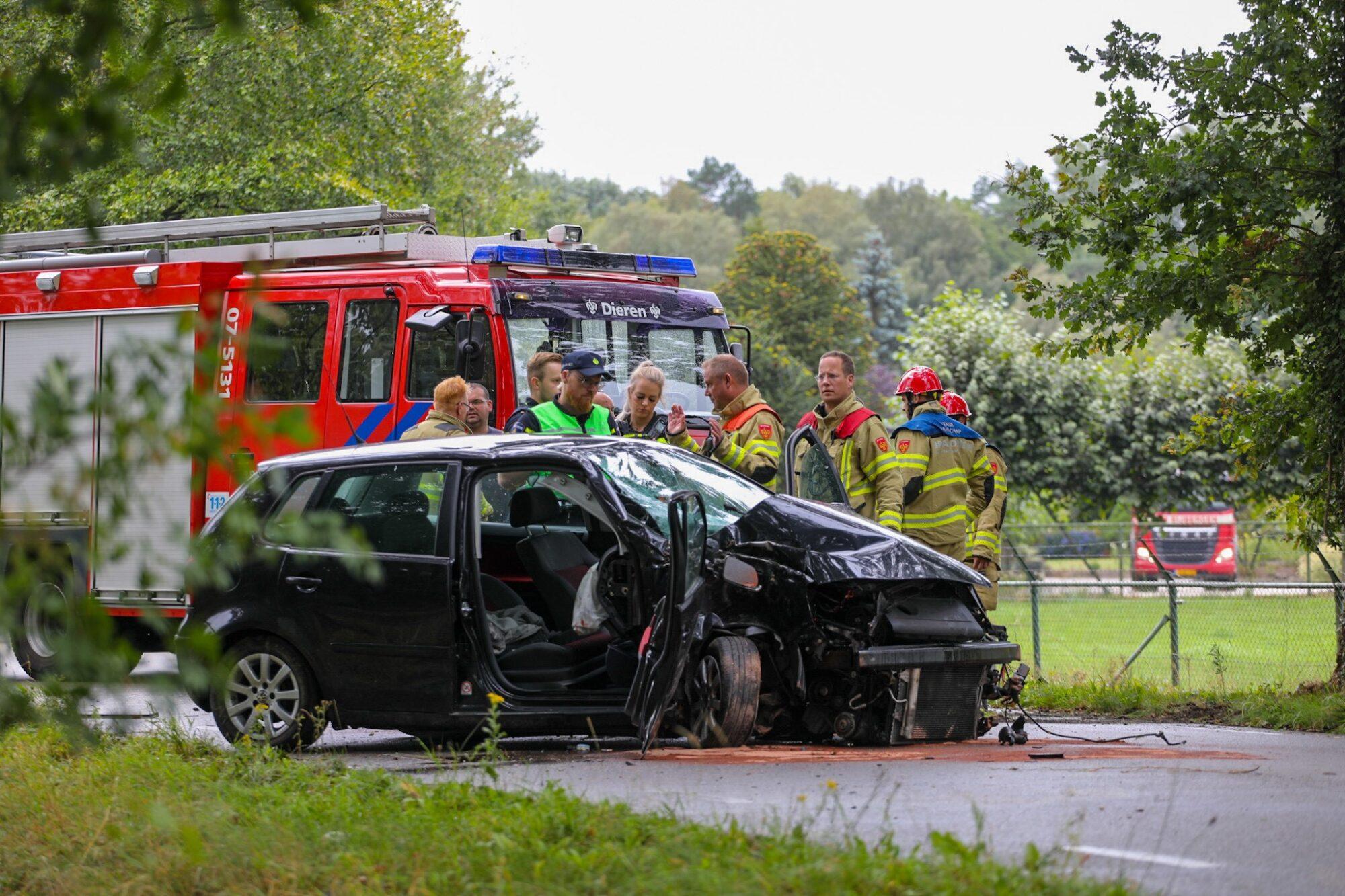 Ernstig ongeval tussen Laag Soeren en Eerbeek.