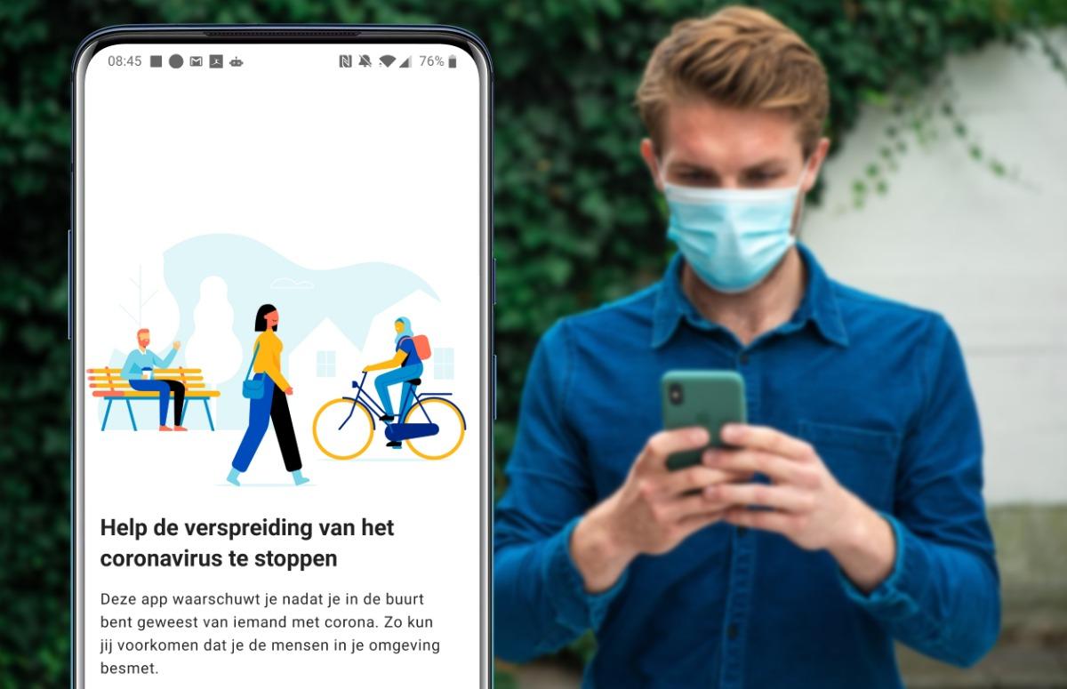 CoronaMelder app sinds vandaag in Overijssel te testen