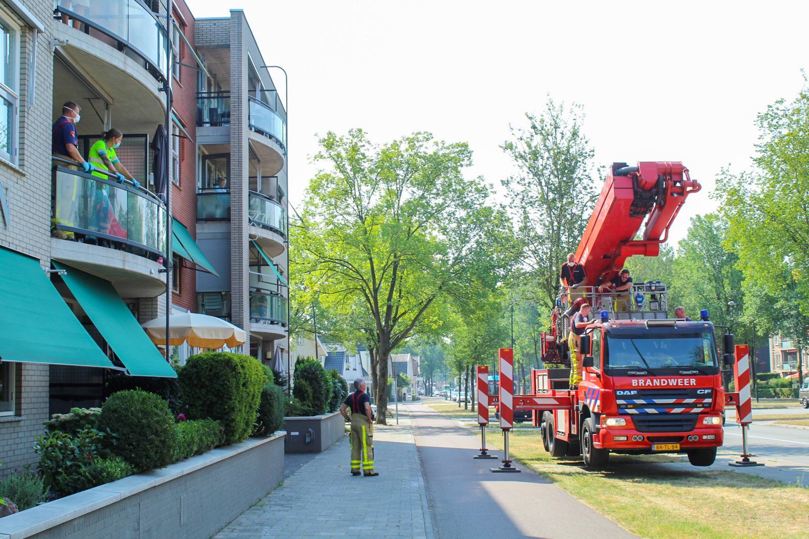 Wat doen die brandweerwagens nou aan de Koning Stadhouderlaan?