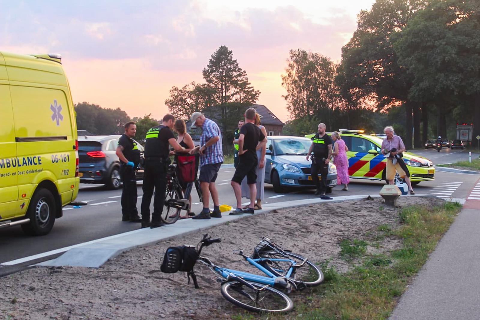 Vrouw ernstig gewond na ongeval op Vordenseweg bij Warnsveld.