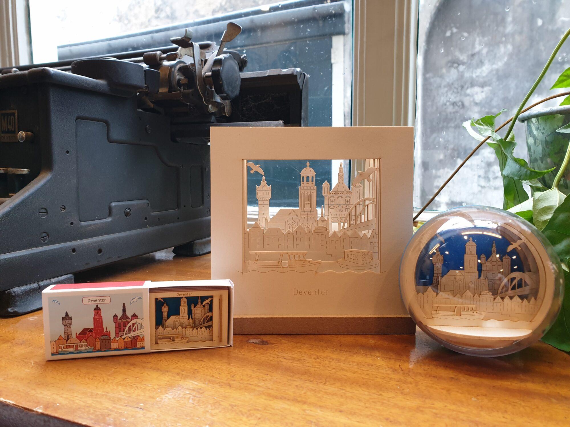 VVV Tip van de Week: Souvenirs met skyline Deventer