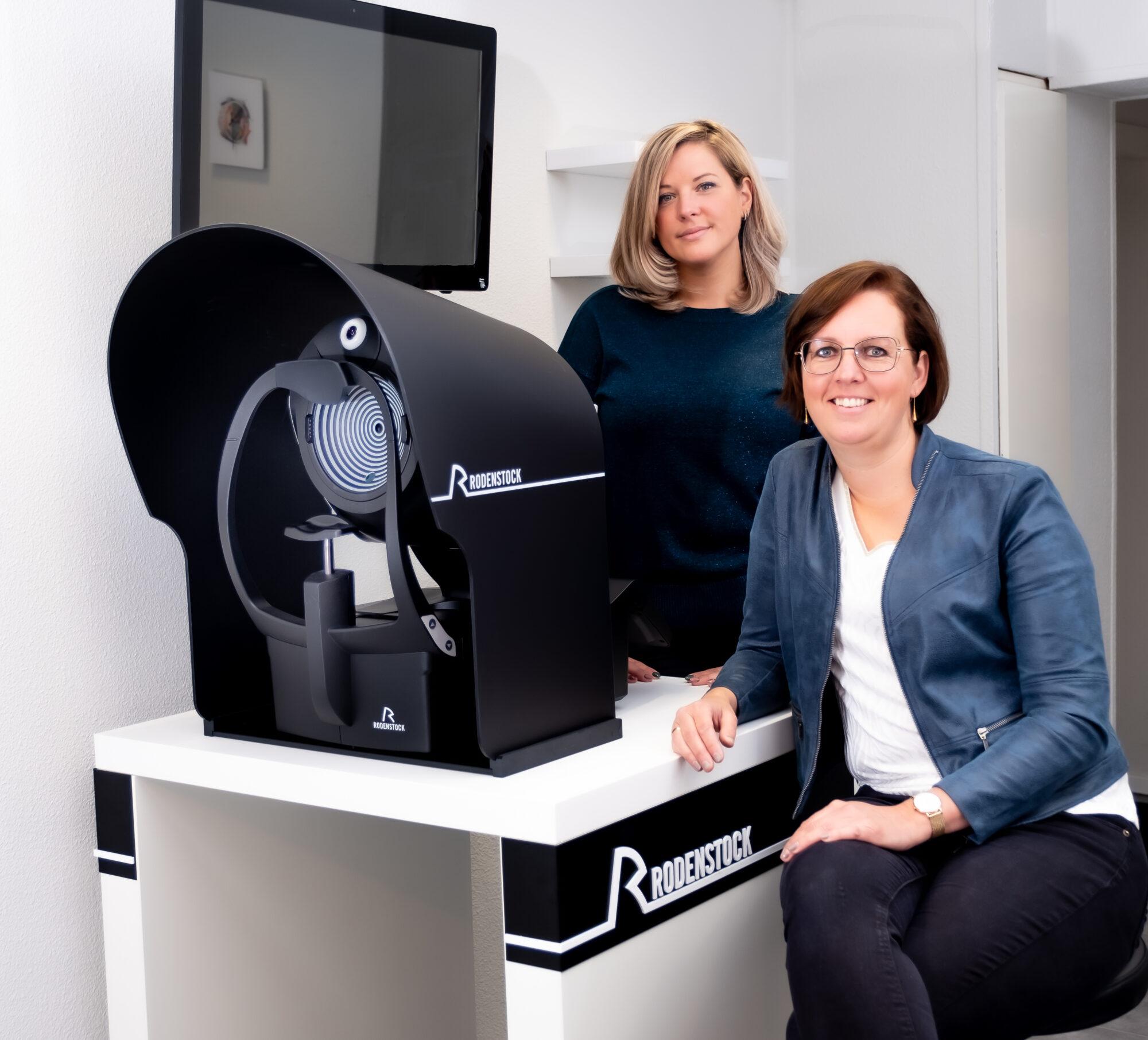 Kennismaken met innovatieve scanner en De Brillenkamer
