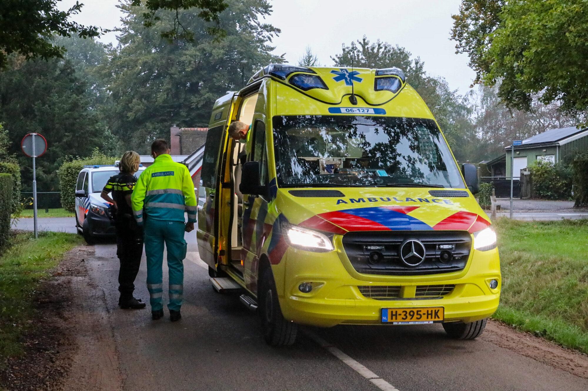 Scooterrijder gewond bij eenzijdig ongeval op Plasweideweg in Wenum Wiesel.