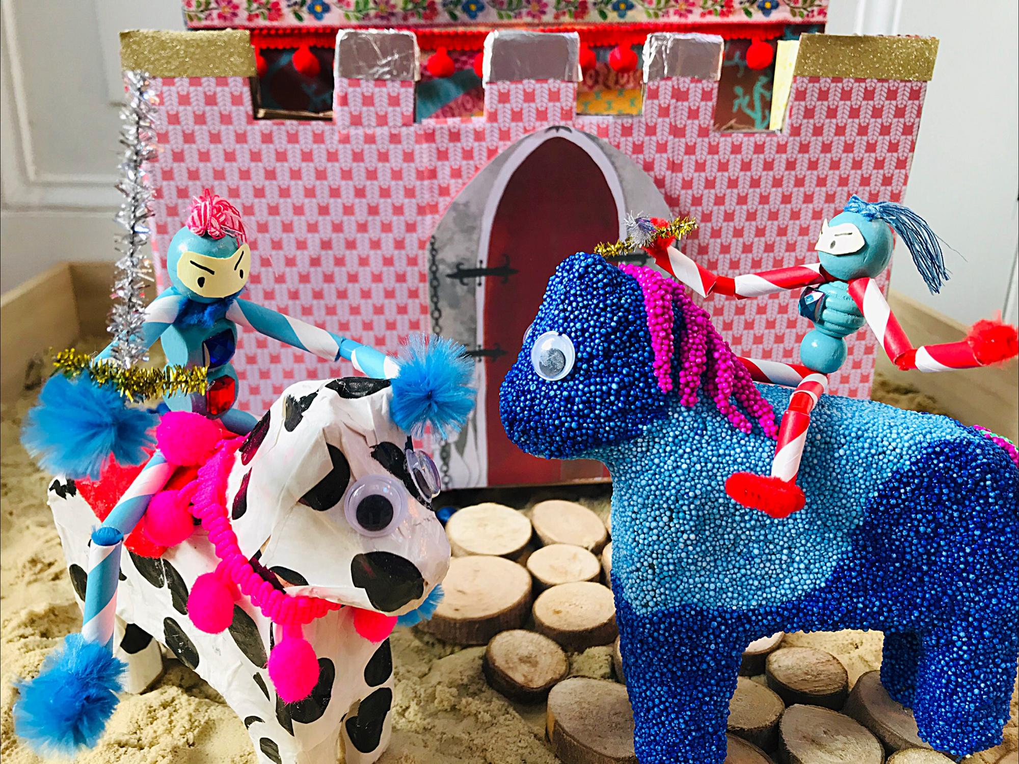 Kinderboekenweek: Ridders te paard en wapperende vlaggen
