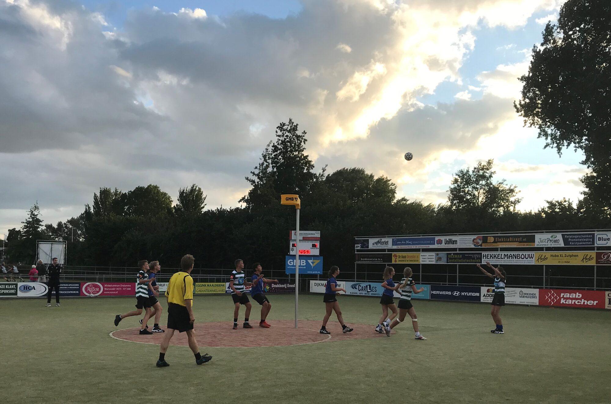 Gemeente Zutphen stemt in met plan voor vernieuwing korfbalvelden