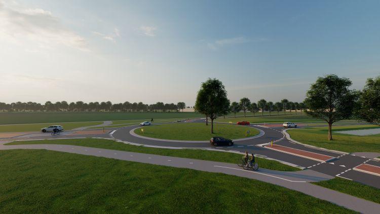 Let op: Verkeershinder bij werkzaamheden rondweg De Hoven (N345)