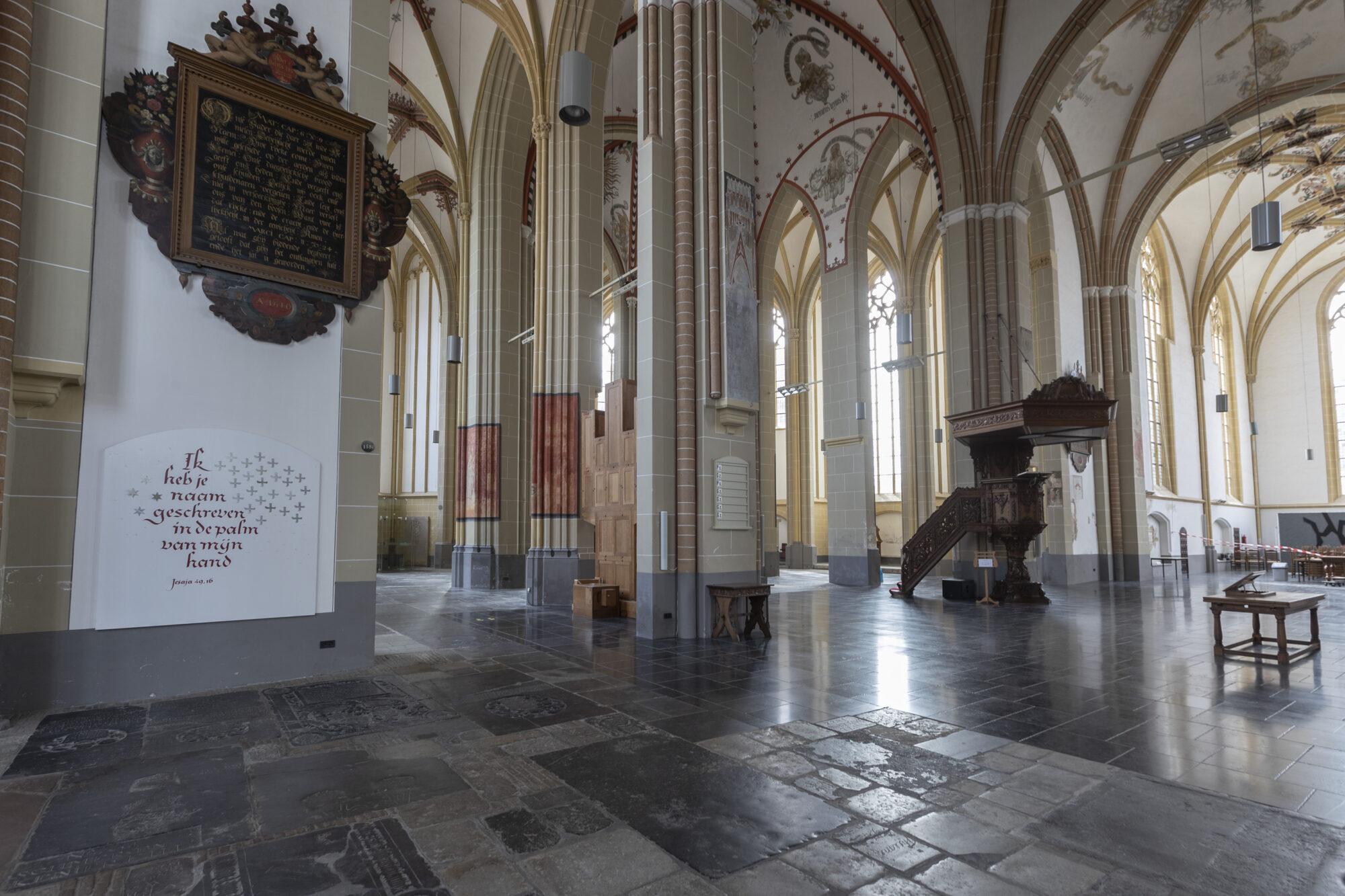 Geschiedenis herleeft in Walburgiskerk