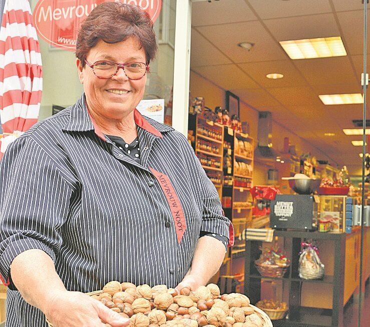 Mevrouw Noot: Een handje noten per dag