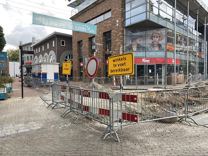 Werkzaamheden aan Marktstroom in Apeldoornse binnenstad hervat