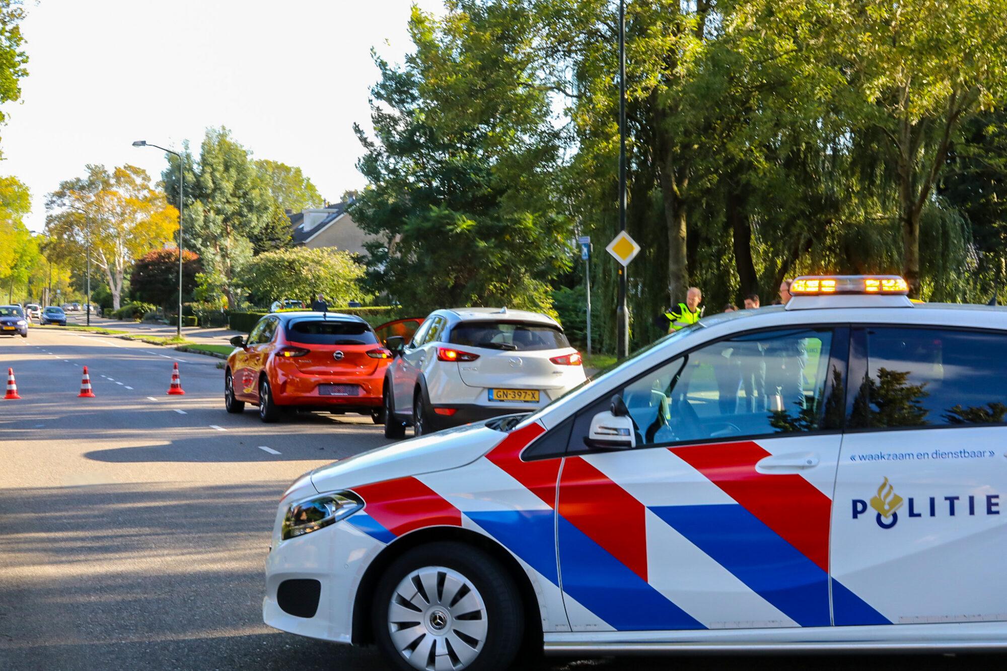 Een persoon lichtgewond bij aanrijding op Anklaarseweg in Apeldoorn