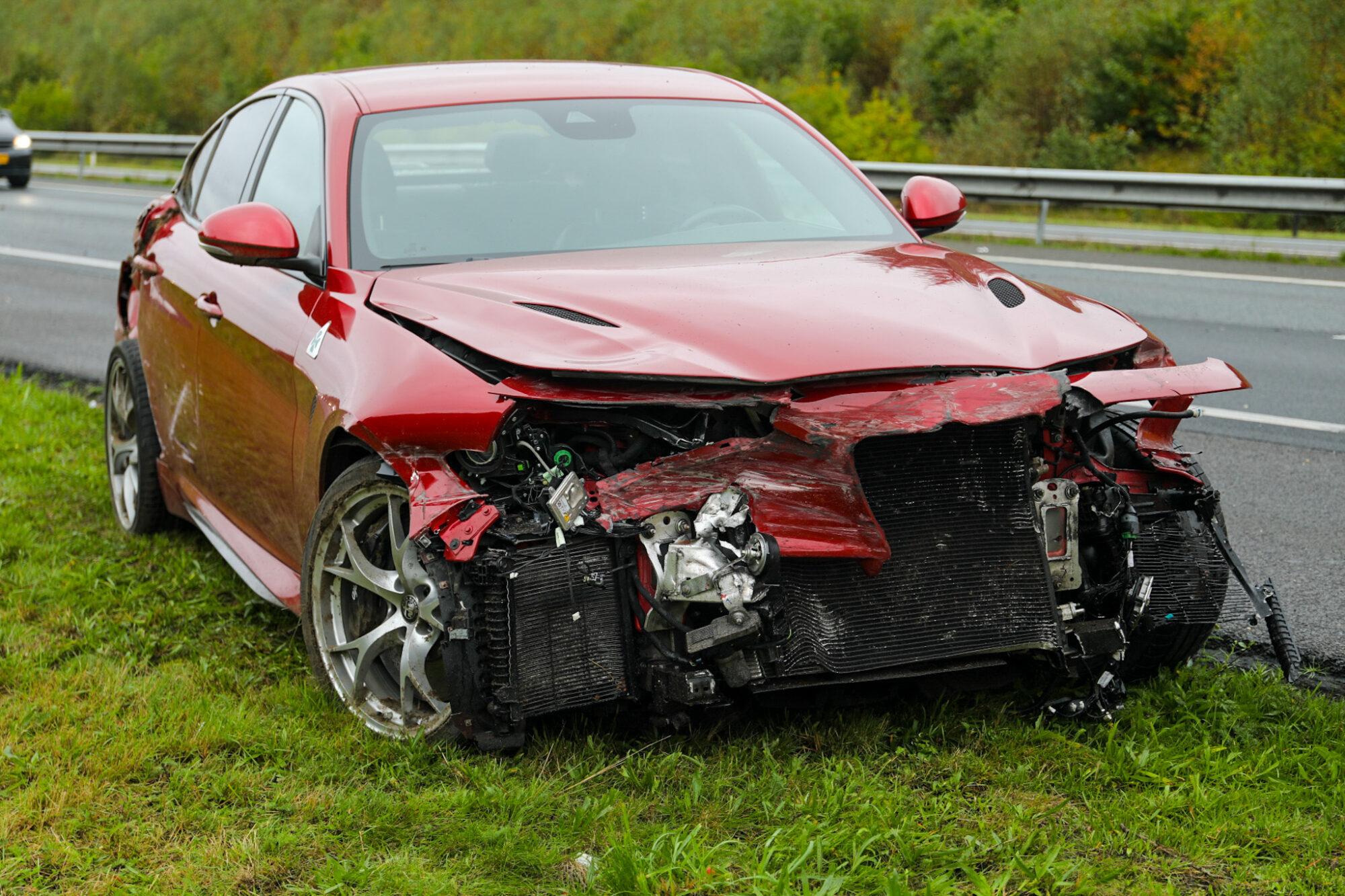 VIDEO | Verkeersvertraging wegens ongeval op A1 tussen Hoenderloo en Kootwijk