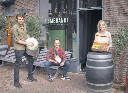 Horecaondernemers in Apeldoornse binnenstad gaan ervoor: grote keuze in afhalen en bezorgen