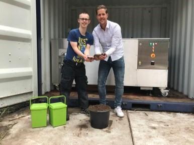 Cliënten maken compost van eigen gft-afval