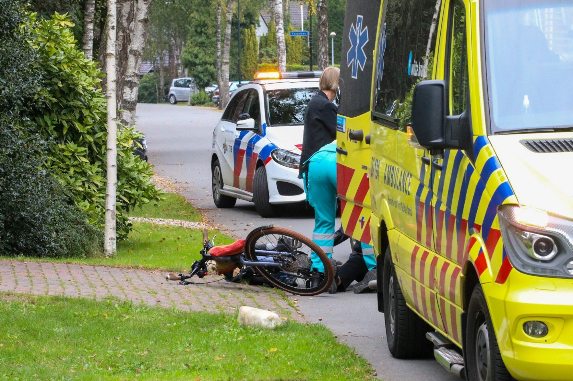 Vrouw gewond na flinke klapper in Apeldoorn