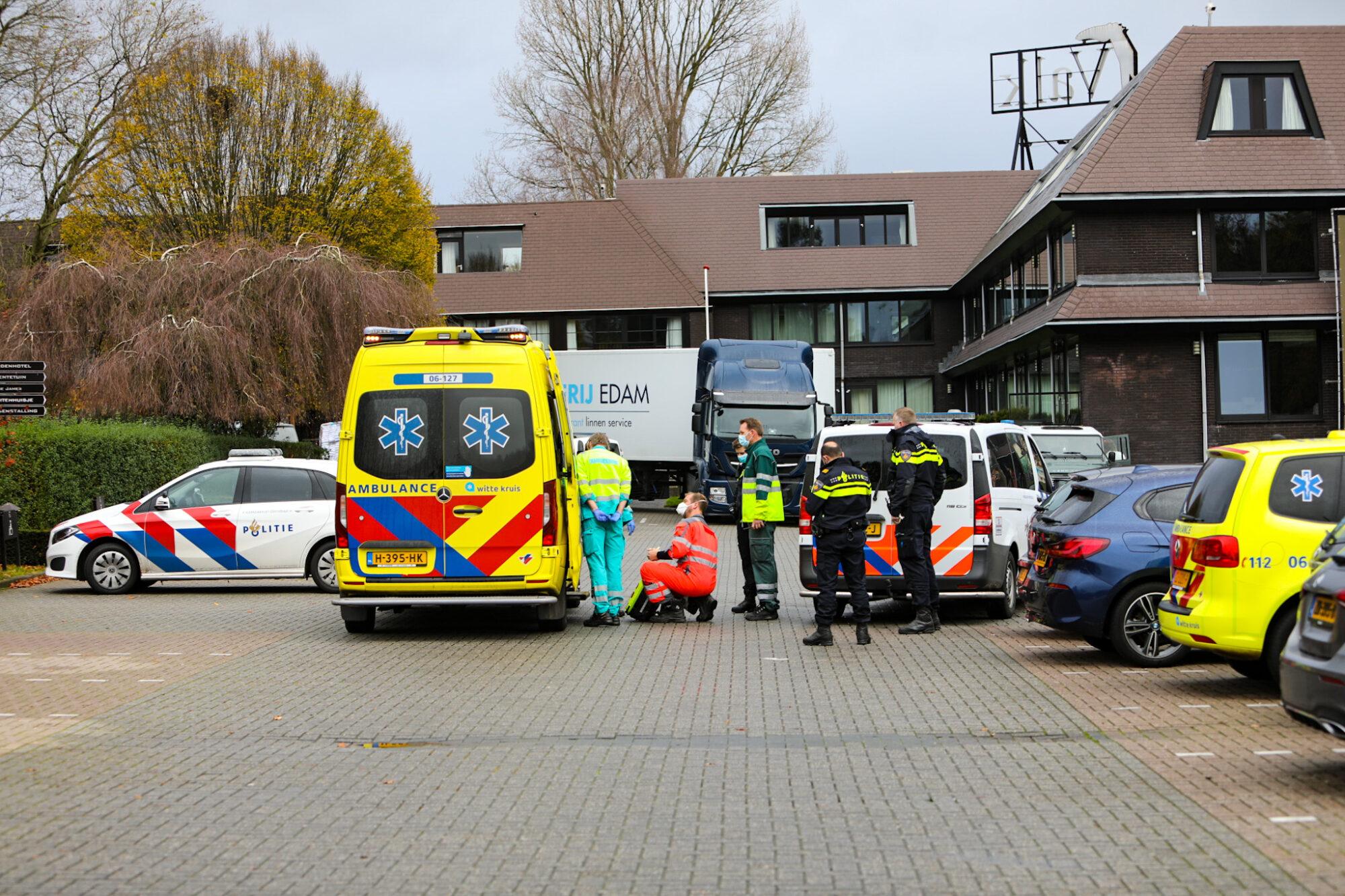 Gewonde bij incident bij Van der Valk Hotel bij Apeldoorn