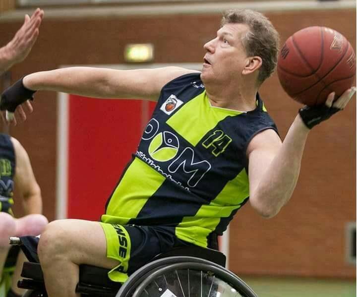 Recreatief rolstoelbasketballen als wekelijks uitje