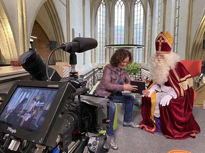 Samen op zoek naar Sinterklaas