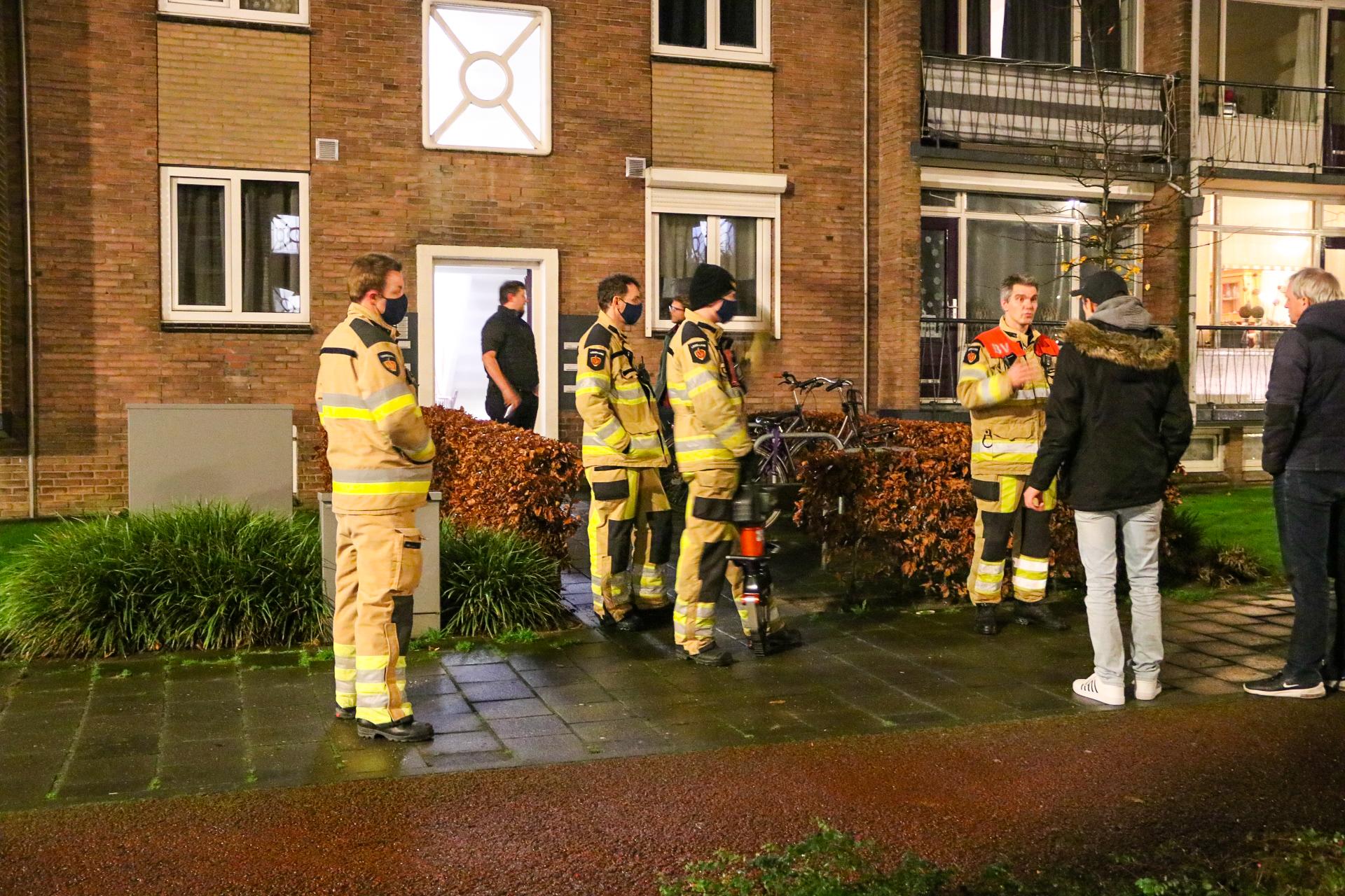 """""""Woningbrand"""" blijkt gesprongen waterleiding in appartement Deventer"""