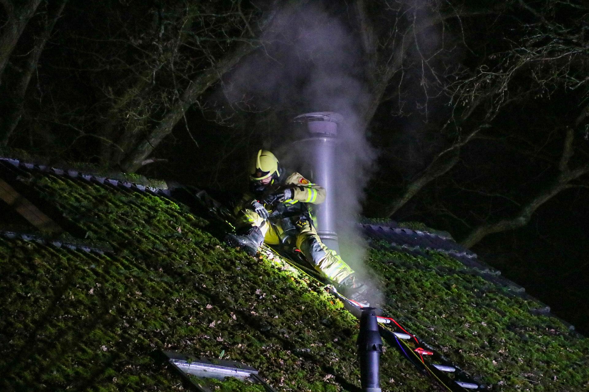 Brandweer druk met schoorsteenbranden op 1e Kerstdag