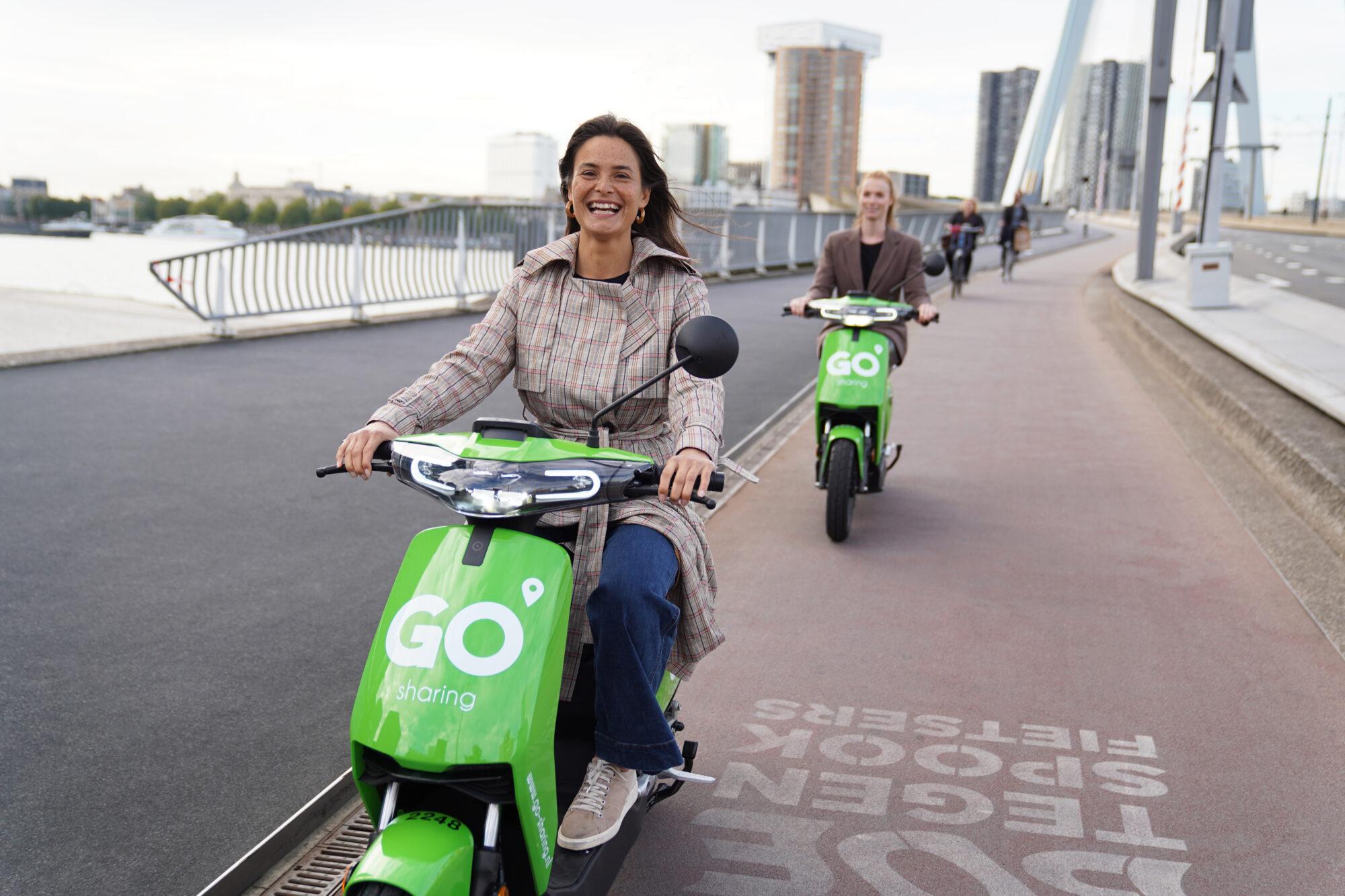Extra GO Sharing scooters in Apeldoorn
