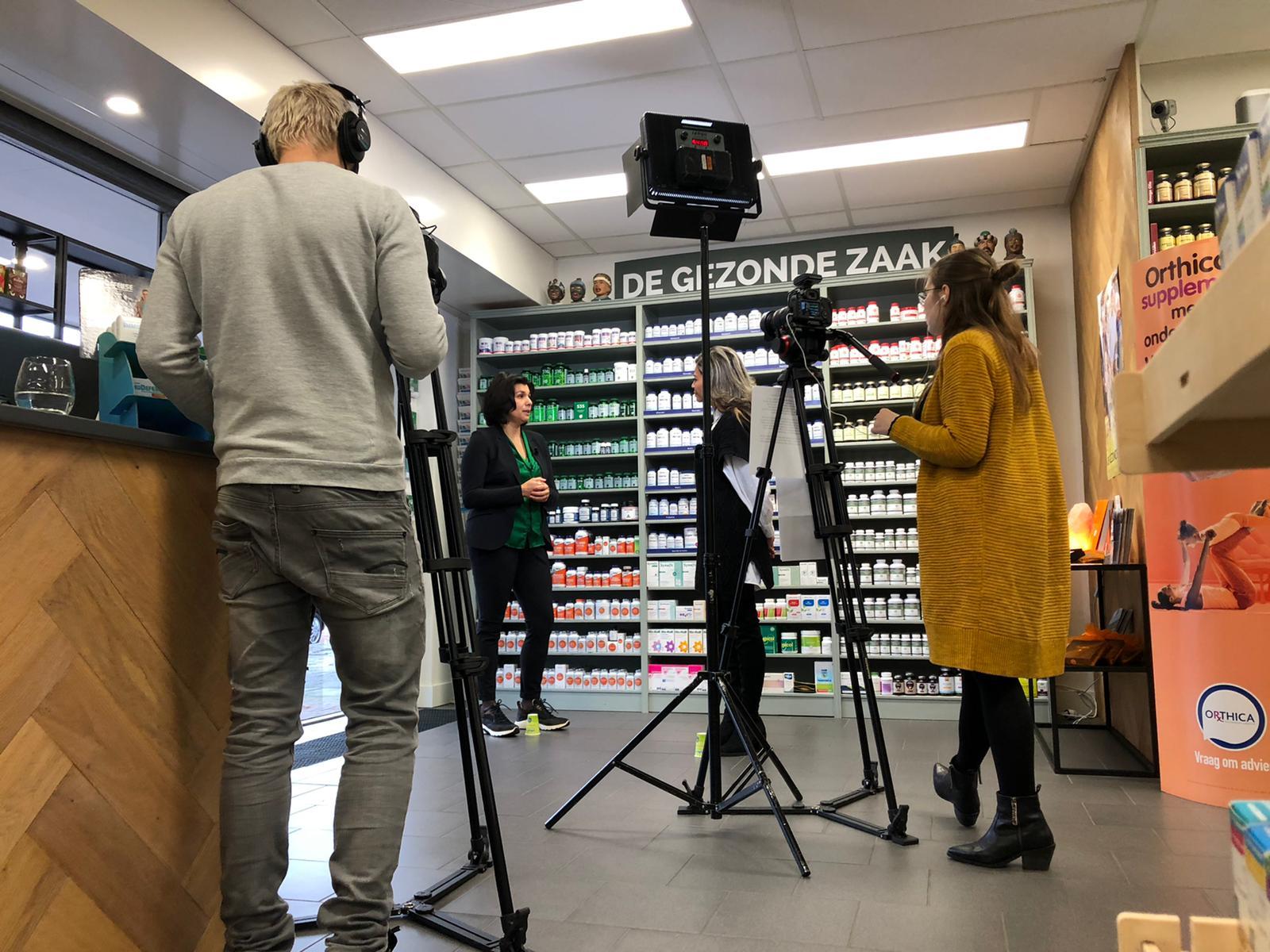 De Gezonde Zaak in Apeldoorn schittert op tv