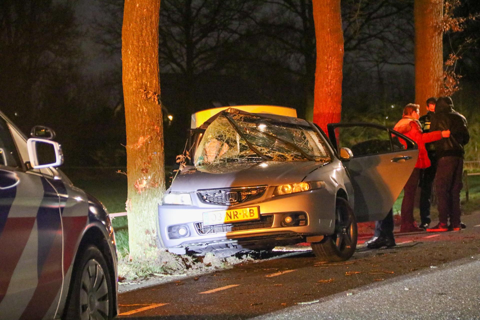 Twee gewonden na ongeval op Elsbosweg in Klarenbeek.