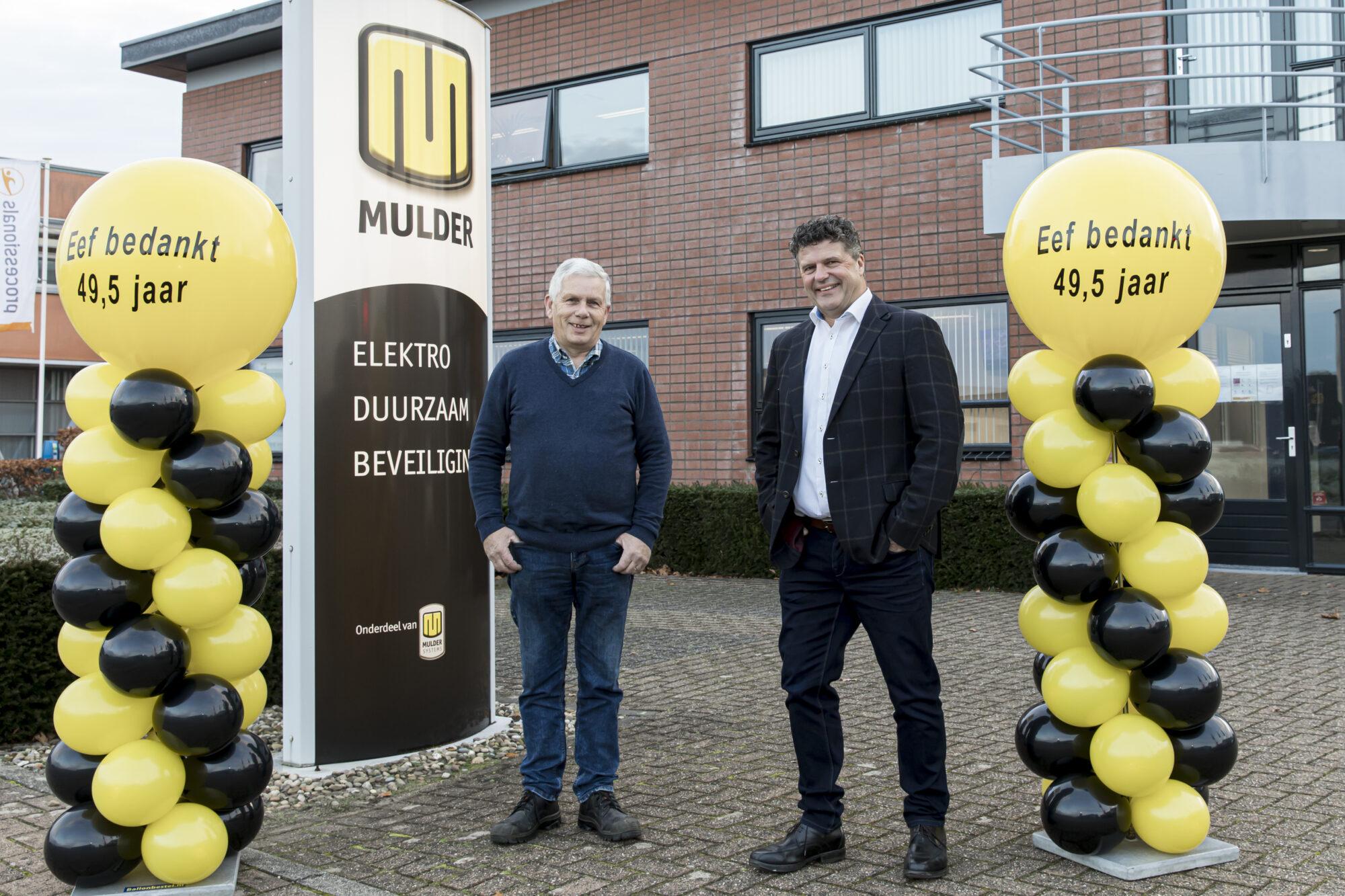Na bijna 50 jaar dienstverband welverdiend pensioen voor Eef Berenschot