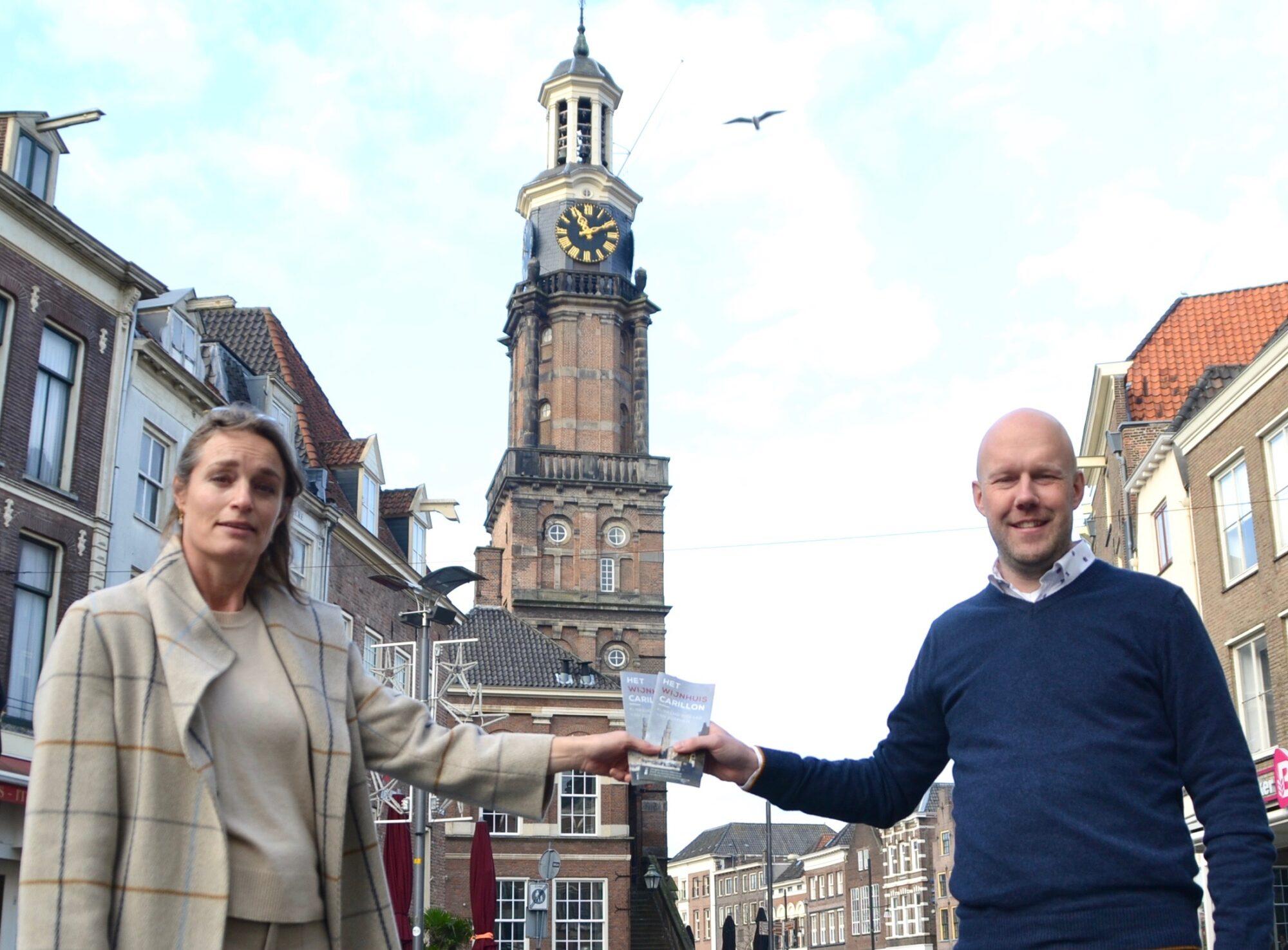 Stichting Vrienden van het Wijnhuiscarillon realiseert nieuwe informatiefolder
