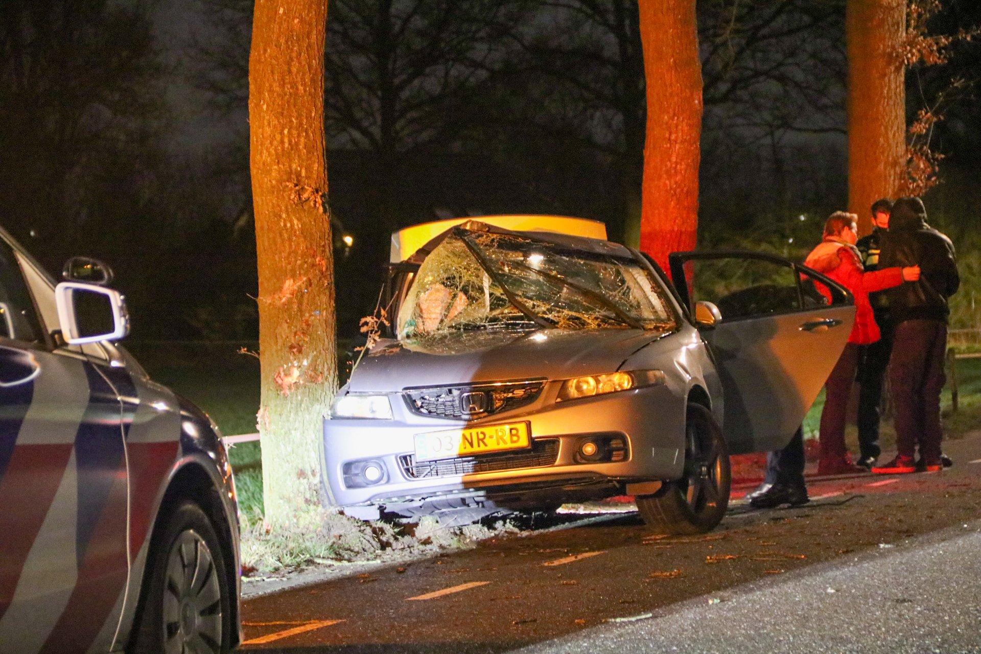 Twee gewonden na ongeval op Elsbosweg in Klarenbeek