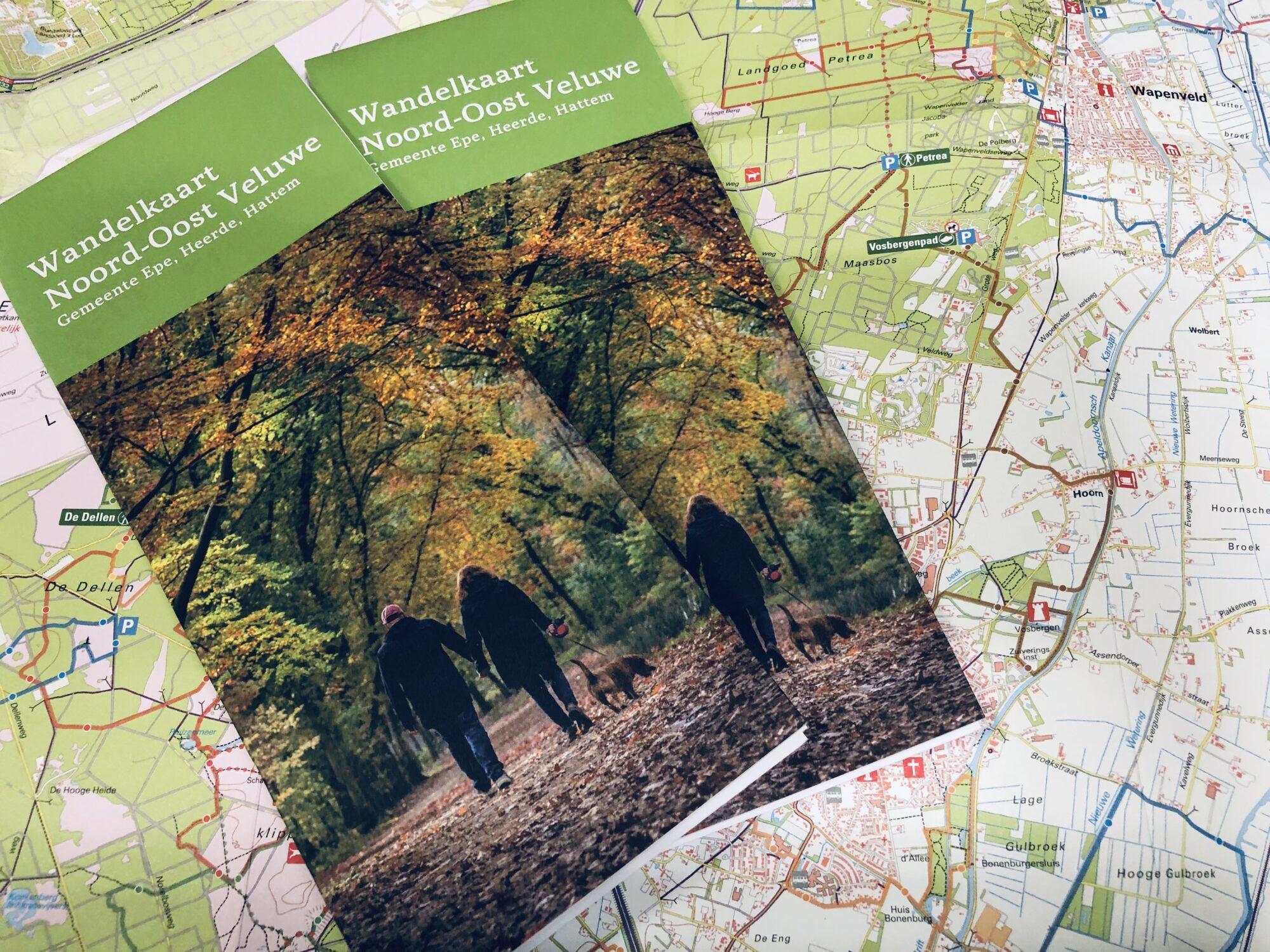 Lekker wandelen met nieuwe kaart