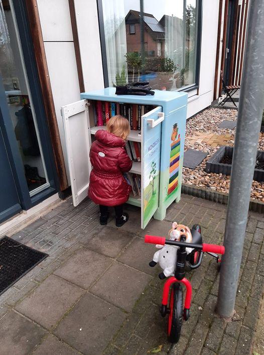 Gloednieuwe minibieb in Apeldoorn geopend