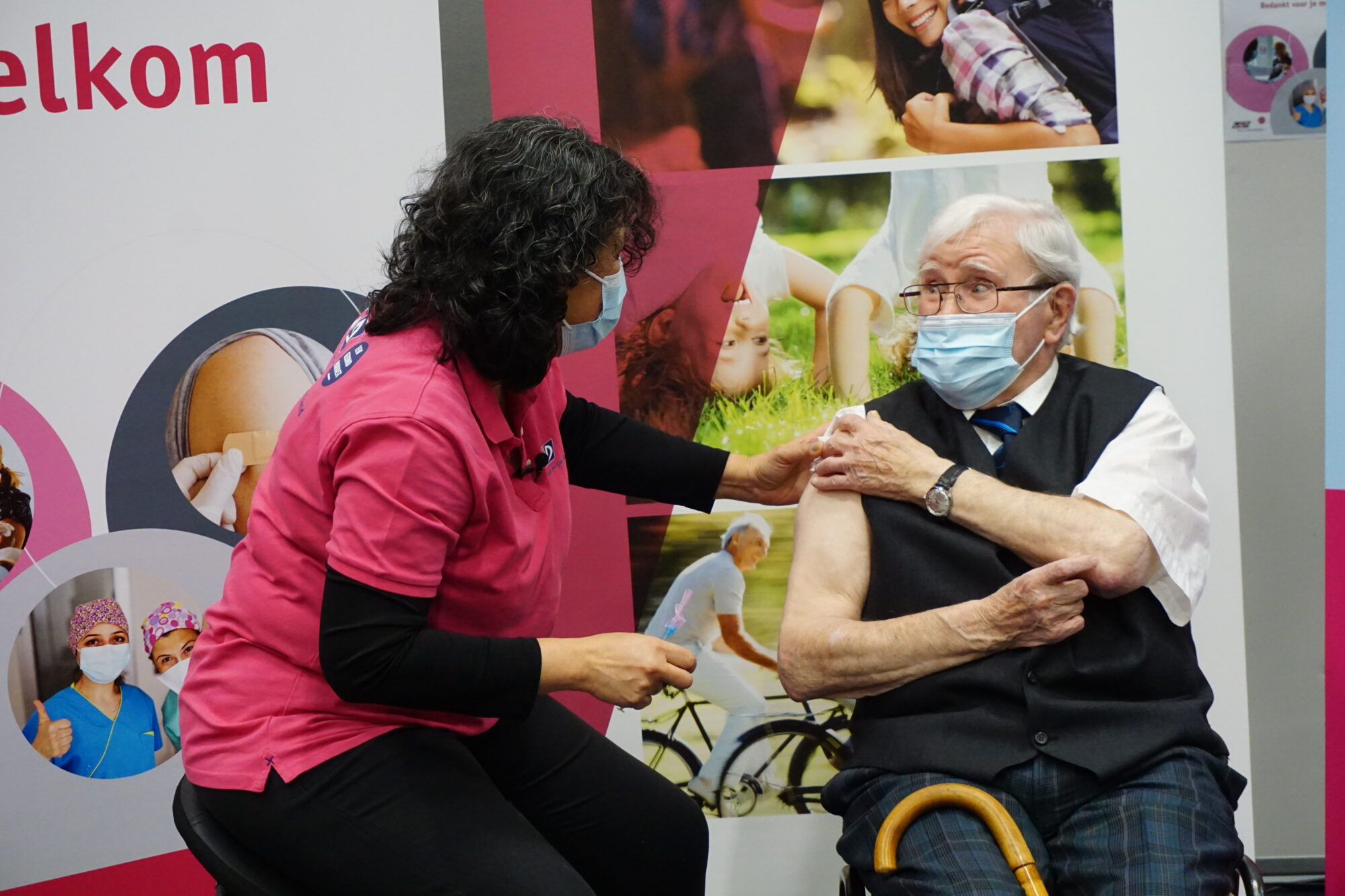 Start vaccineren senioren GGD Noord- en Oost-Gelderland