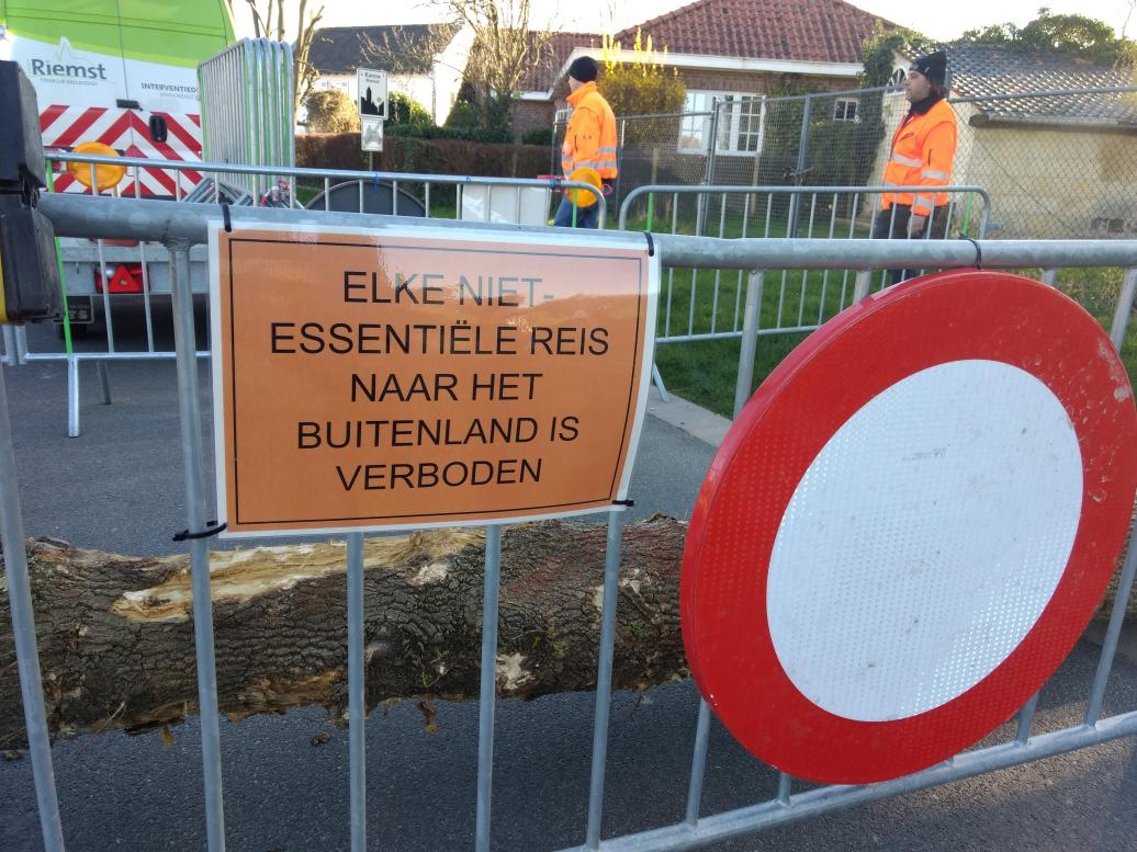 Funshoppen in België verboden