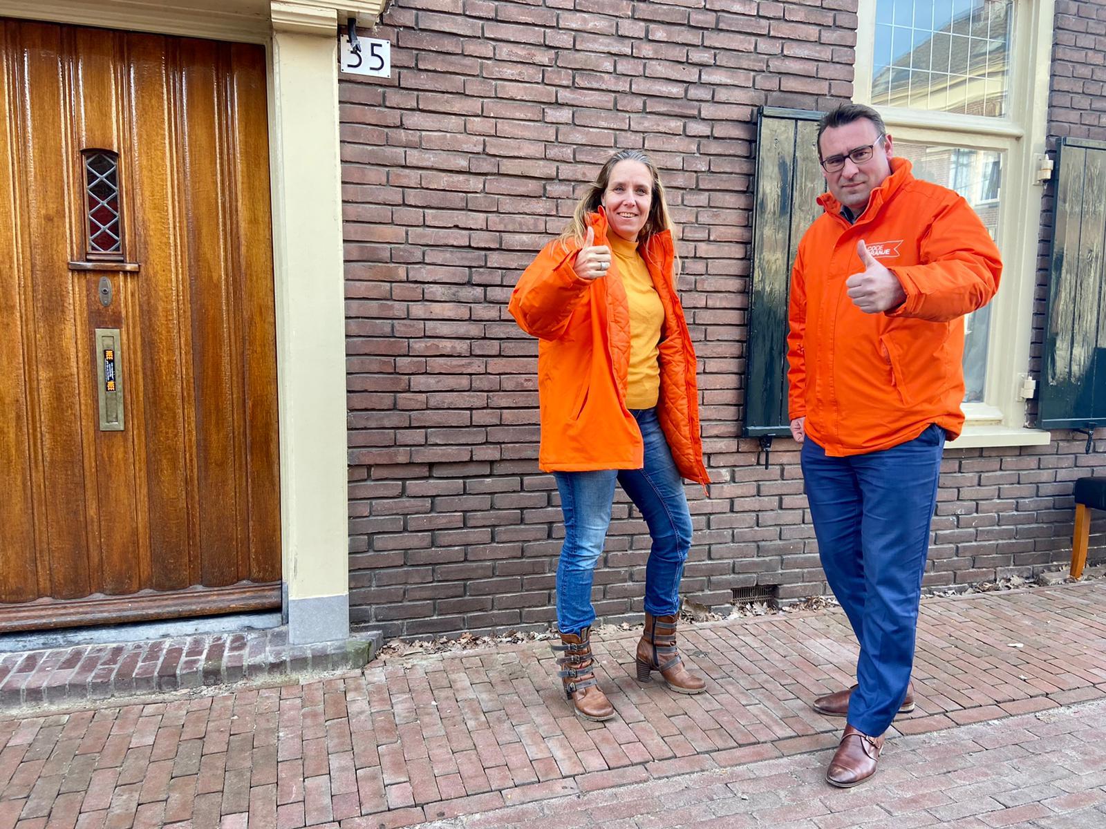 Code Oranje lijsttrekker op bezoek in Zutphen