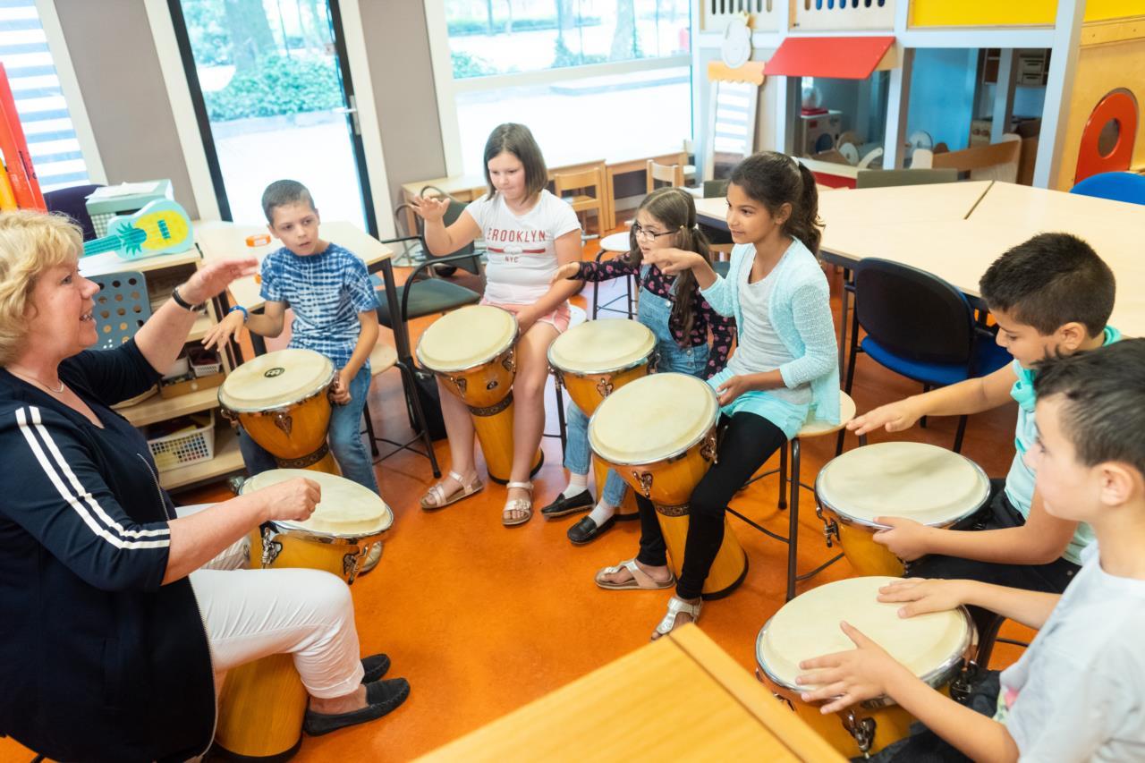 'Kunst en cultuur in het onderwijs begint altijd met spelen'