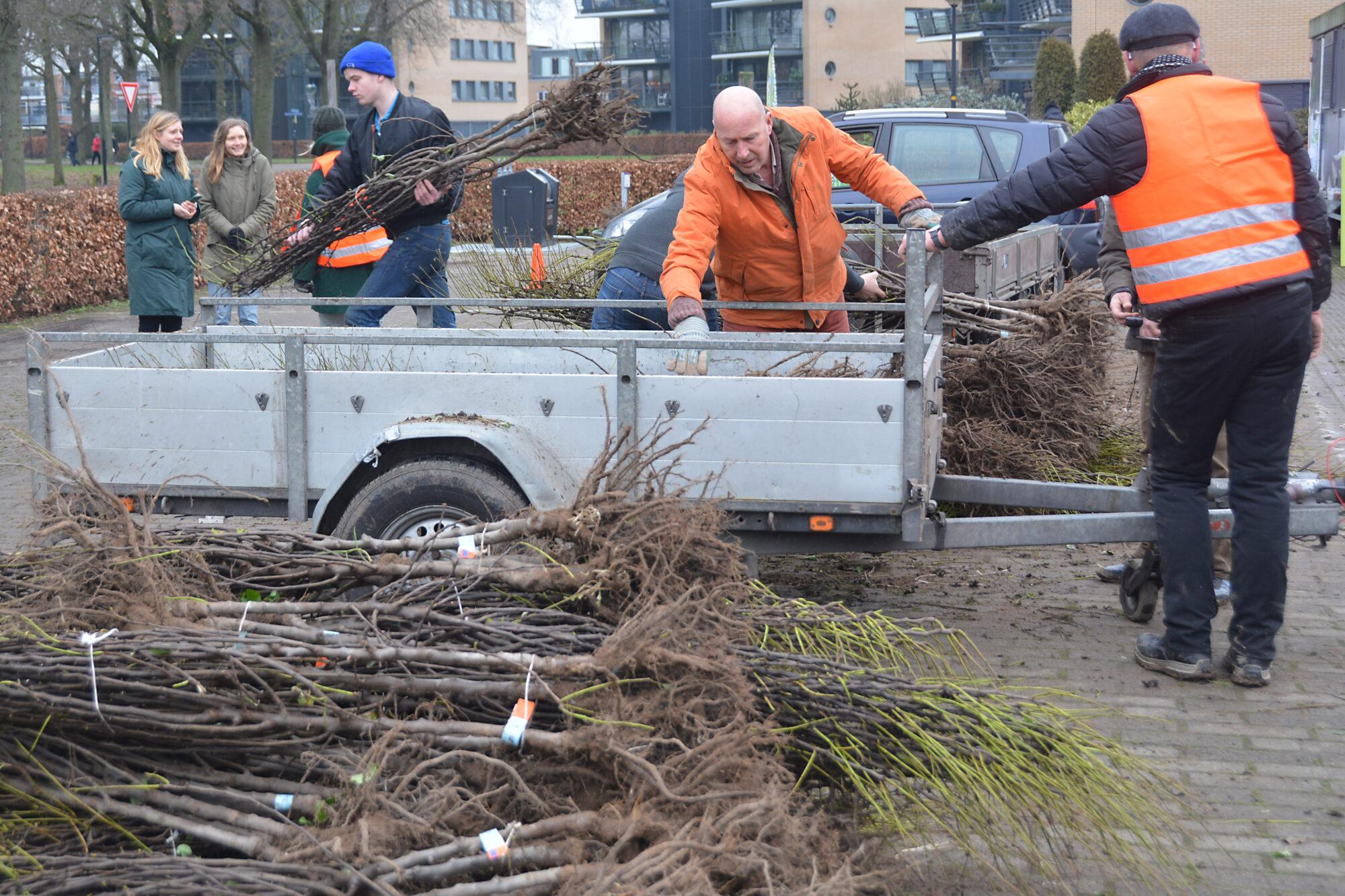 Perenbomen gered van het vuur
