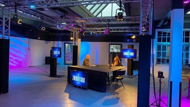 Livestreams vanuit Zwarte Silo in Deventer