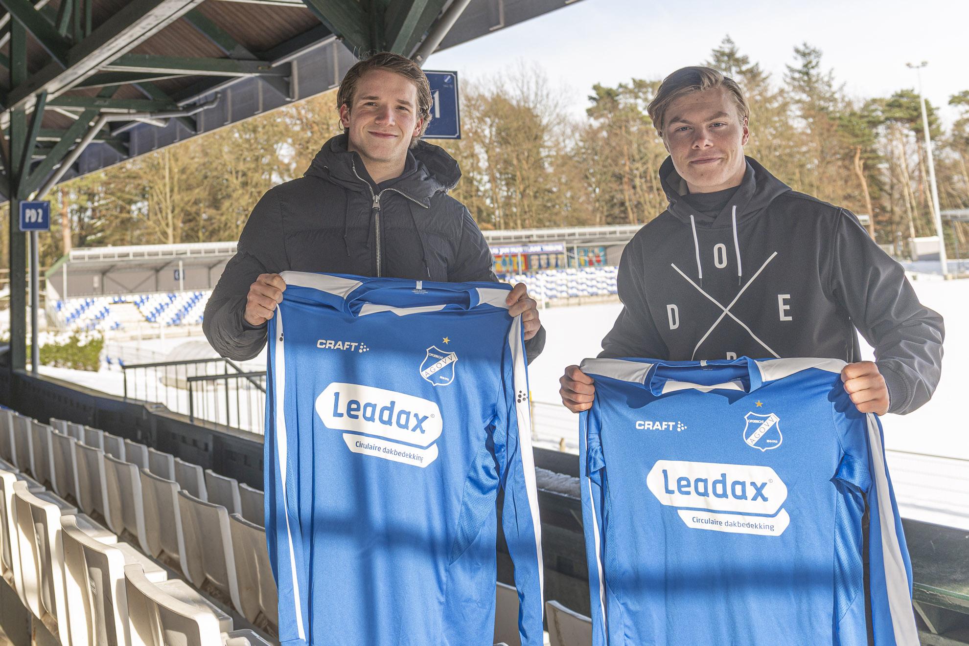 Jesse Perdon en Luca Bouwmeester kiezen voor AGOVV