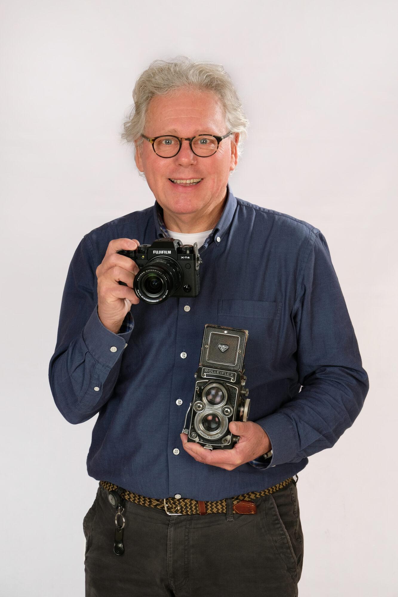 Ferdinand de Beus 50 jaar werkzaam bij Foto Hekkert