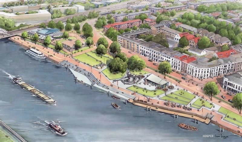Gemeente Zutphen en waterschap werken samen verder aan IJsselkade