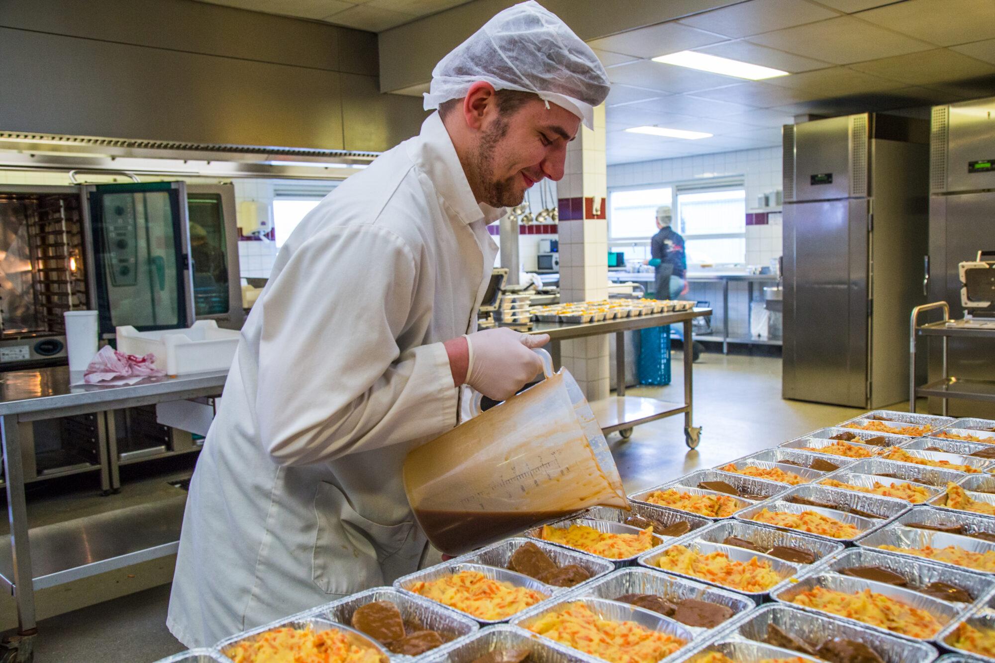 Van 0 naar 1.000 koelvers maaltijden per week