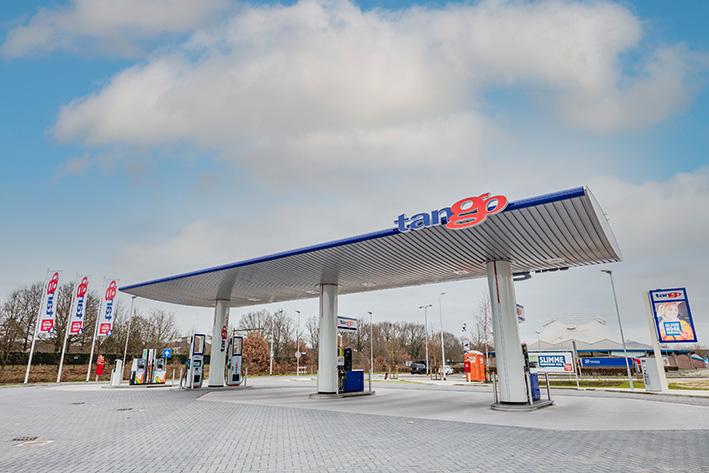Tango opent nieuw tankstation in Deventer