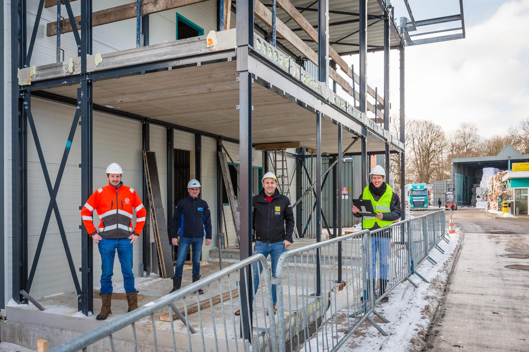 Apeldoornse familiebedrijven vormen bouwteam