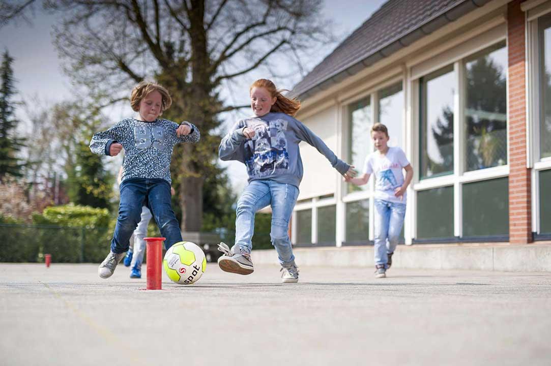 Sportkompas laat leerlingen bewegen