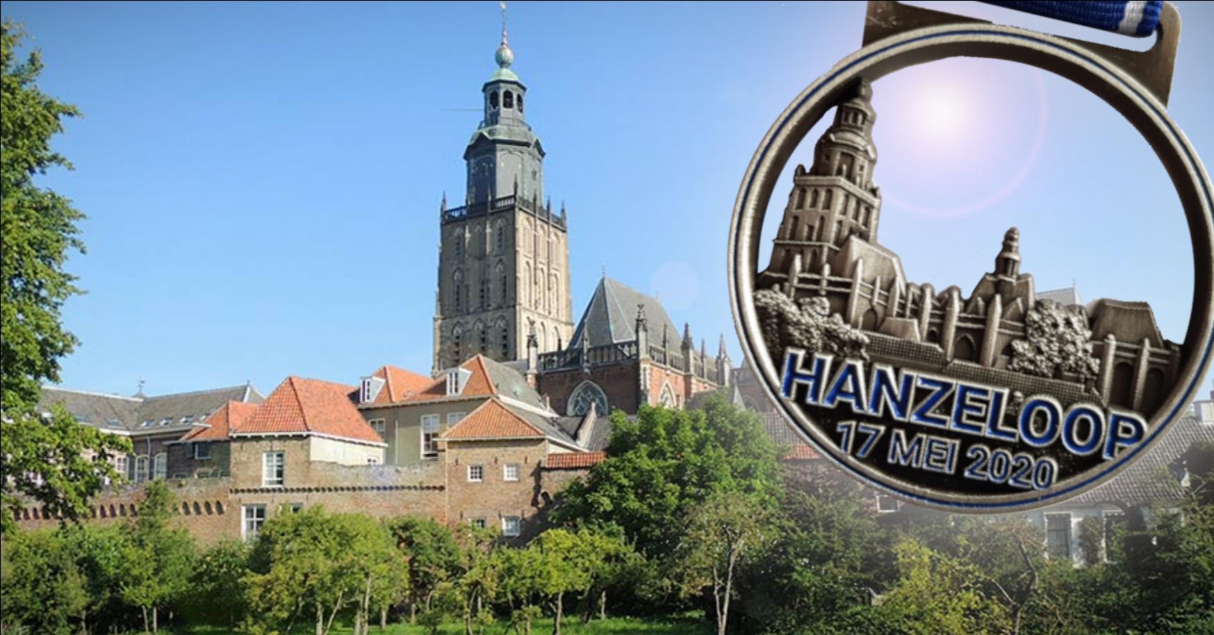 Ook dit jaar virtuele City Hanzeloop