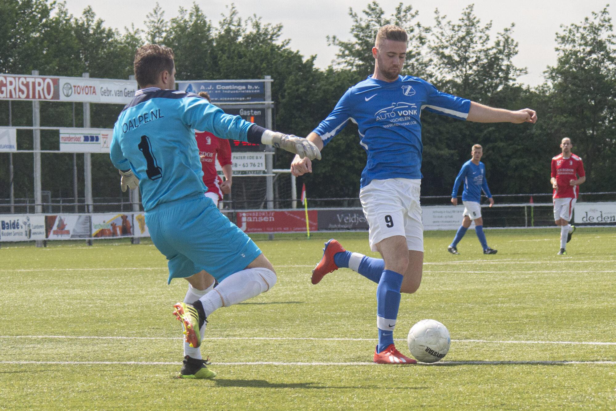 AGOVV sluit goalgetter Maikel van der Wijk weer in de armen