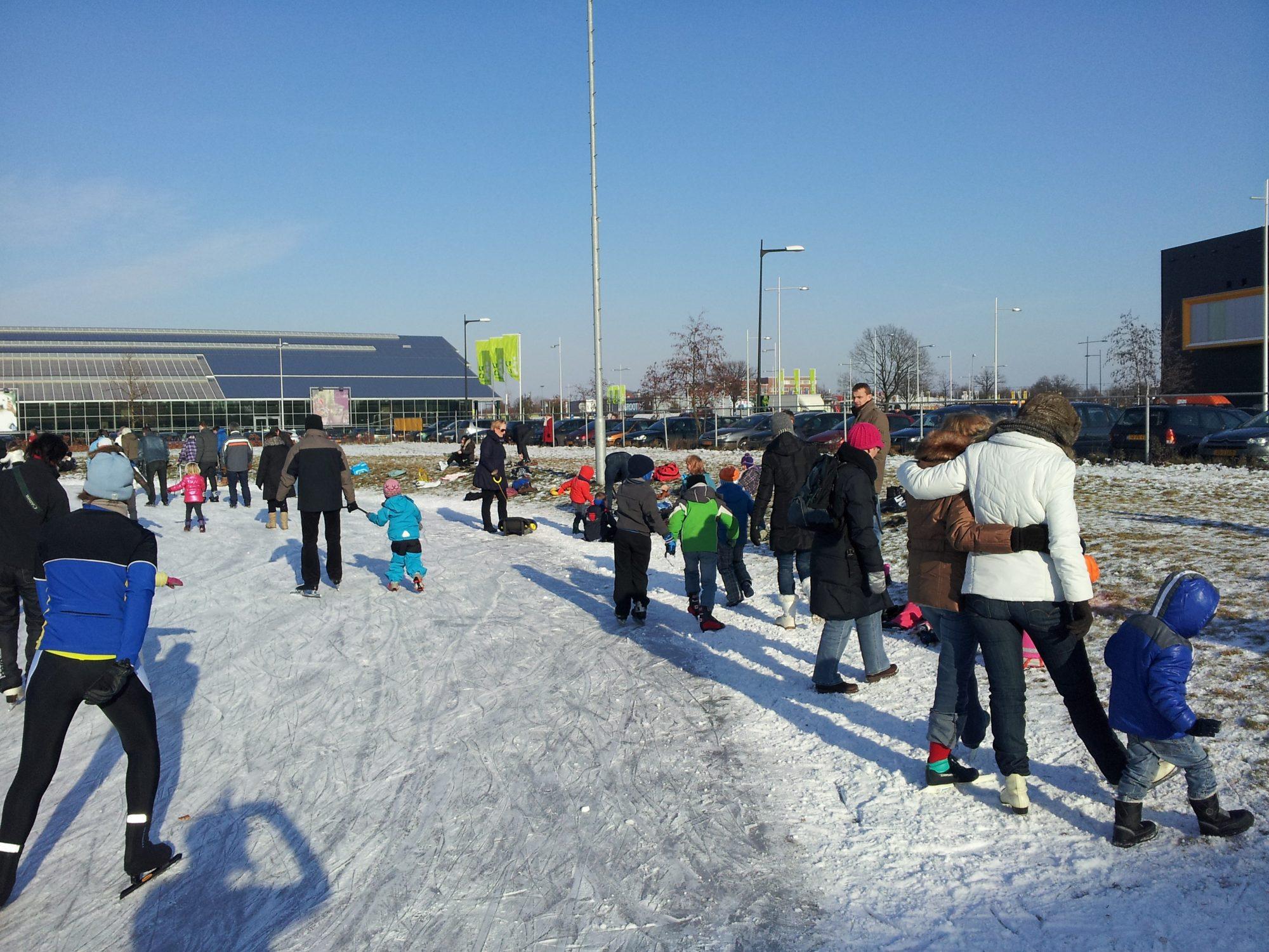 Wellicht donderdag in Apeldoorn het ijs op!