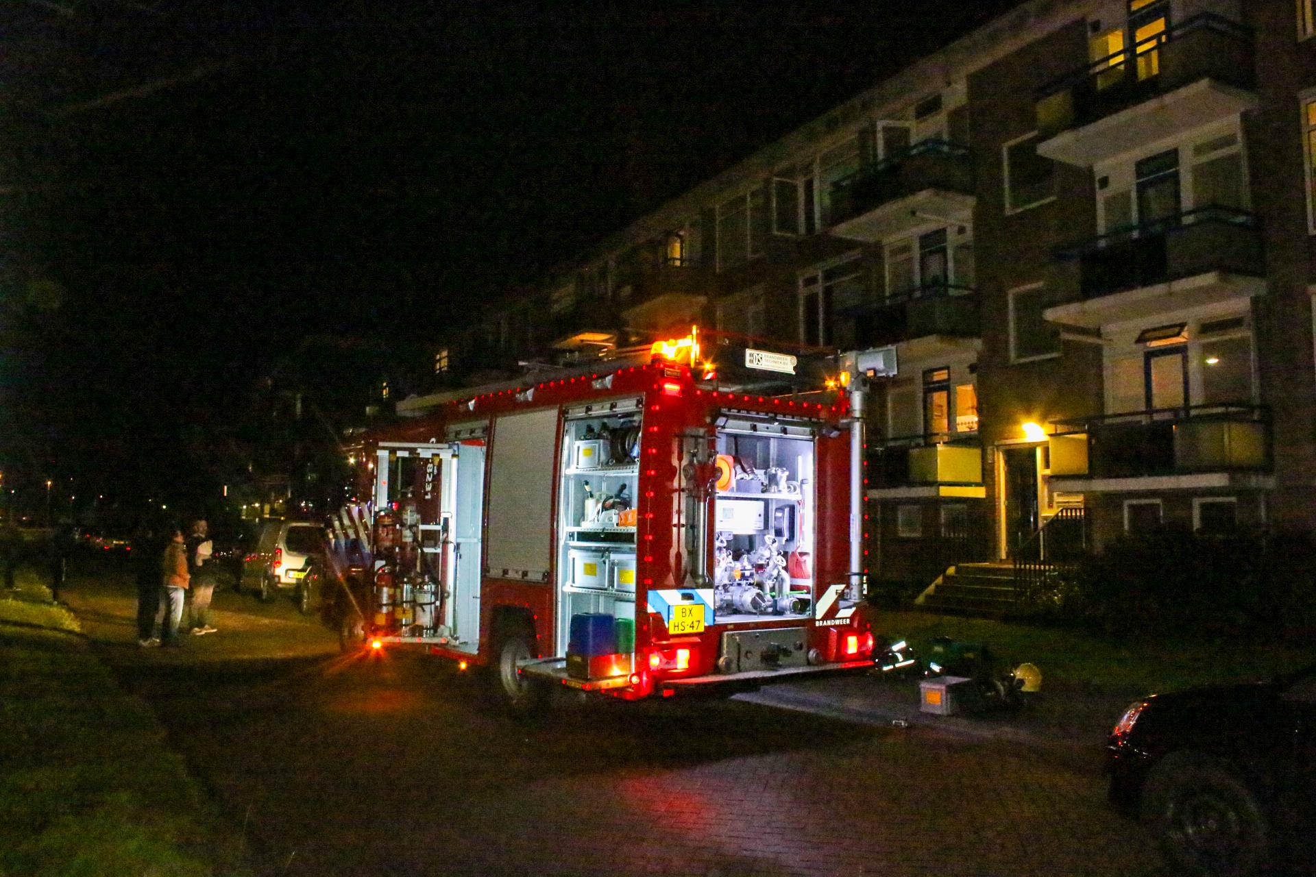 Brandend matras zorgt voor woning vol rook in Zutphen