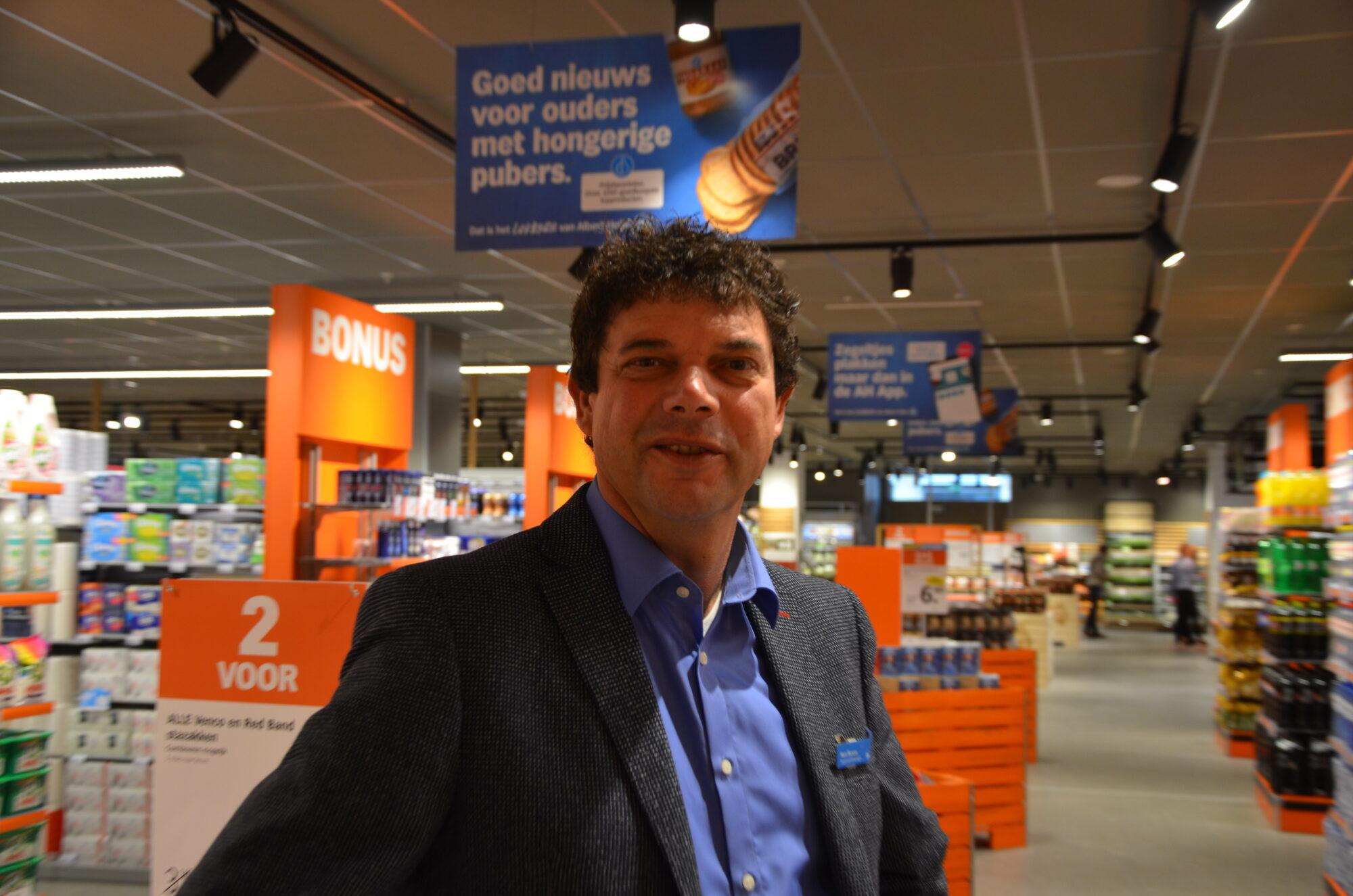 Supermarktmanager Hans Muscus: 'De klant komt altijd van rechts'